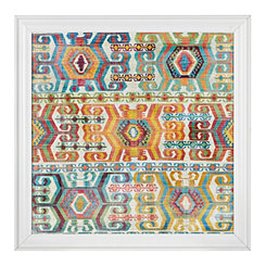Aztec Pattern Framed Gallery Print