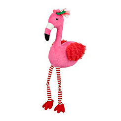 Plush Pink Flamingo Sitter
