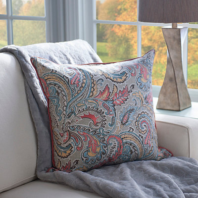 Jada Spice Paisley Pillow