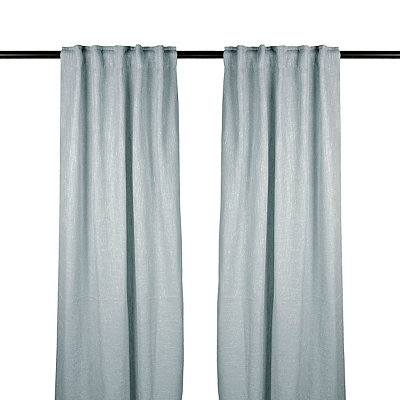 Blue Selma Curtain Panel Set, 84 in.
