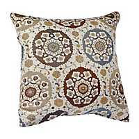 Blue and Brown Diana Pillow