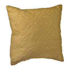Yellow Jane Diamond Pillow