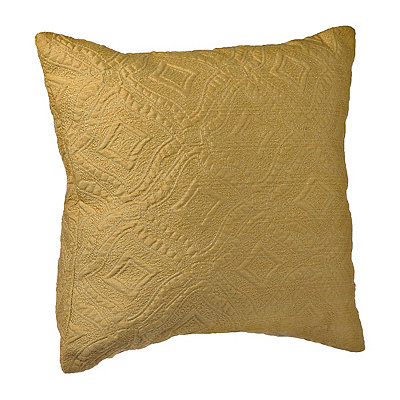 Yellow Jane Diamond Pillow