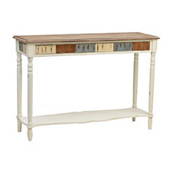 Joanna Patchwork Console Table