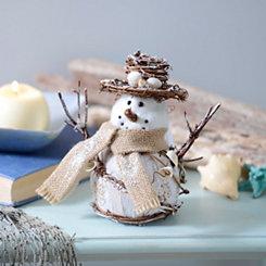 Seashore Snowman Figurine