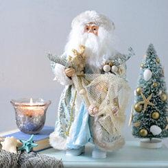 Seashore Santa Figurine