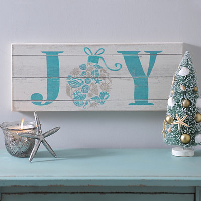 Coastal Joy Ornament Plaque