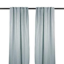 Blue Selma Curtain Panel Set, 96 in.