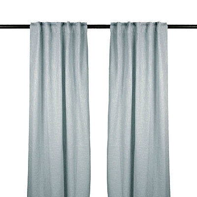 Blue Selma Curtain Panel Set, 96 in.