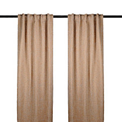 Tan Selma Curtain Panel Set, 108 in.