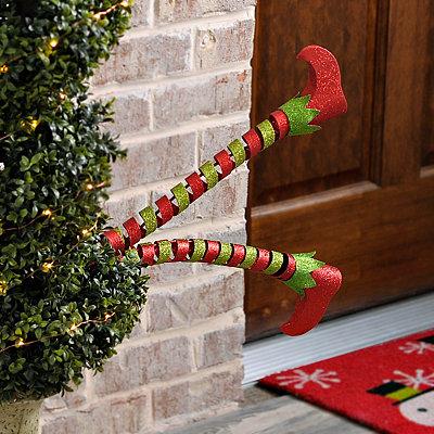 Curled Elf Leg Metal Stake