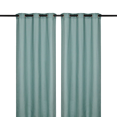 Aqua Jakarta Curtain Panel Set, 96 in.