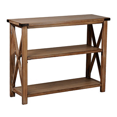 Farmhouse Wood Console Table