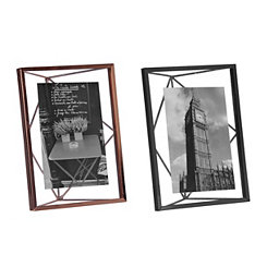 Geometric Metal Picture Frame, 4x6