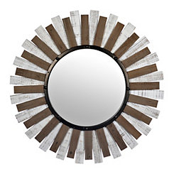 Collins Wood Starburst Mirror