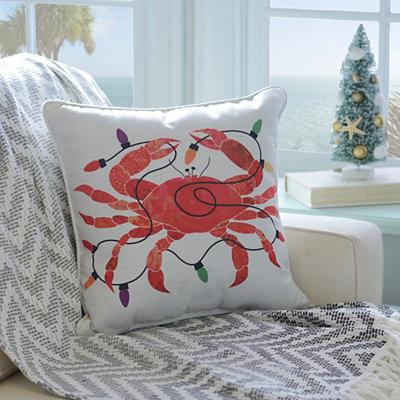 Christmas Crab Pillow