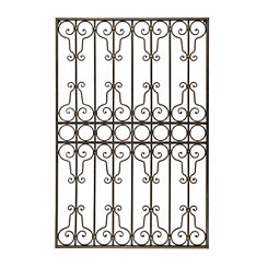 Gated Ornate Amelia Metal Plaque