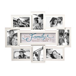 every family has a story 8 opening collage frame