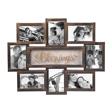 blessings 8 opening collage frame