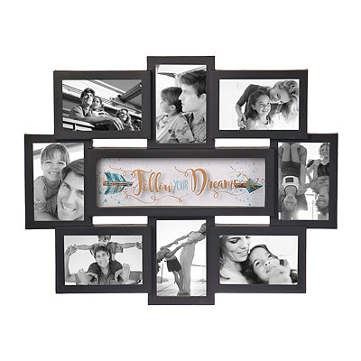 Follow Your Dreams 8-Opening Collage Frame