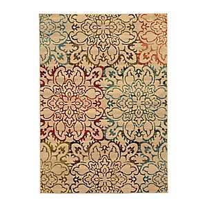 Floral Medallion Brayson Accent Rug, 3x5