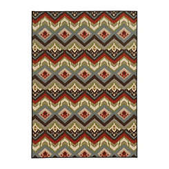 Warm Sphinx Antioch Area Rug, 5x7