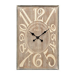 Wood New Era Wall Clock