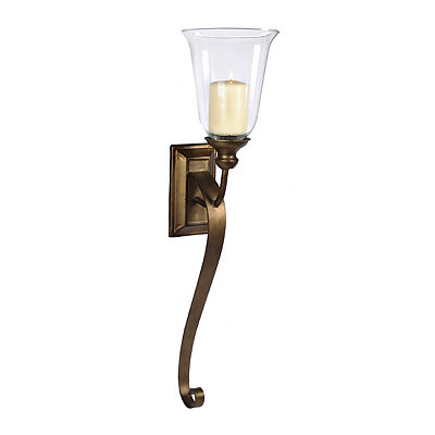 Bronze Campbell Hurricane Sconce
