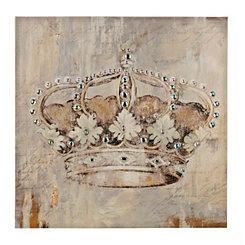 Jeweled Crown Canvas Art Print