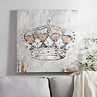 Jeweled Crown Canvas Art Print