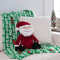 Santa Claus Blanket Buddy Set