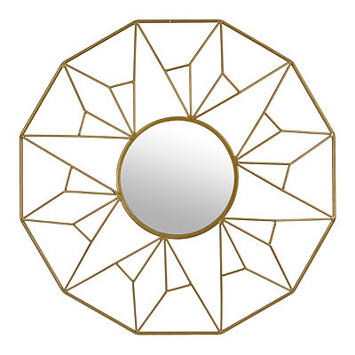 Gold Dimensional Geometric Mirror