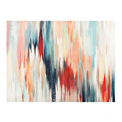 Color Blend Canvas Art Print