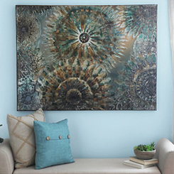 Medallion Scatter Canvas Art