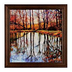 Autumn Mosaic Framed Art Print