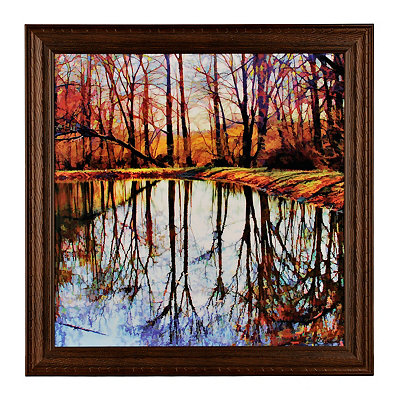 Autumn Mosaic Framed Art Print