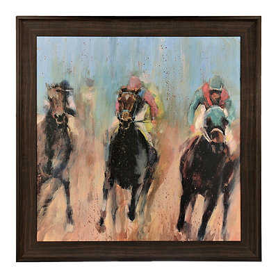 Run Framed Art Print