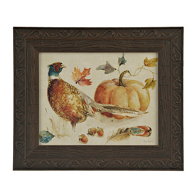 Harvest Pheasant Framed Art Print