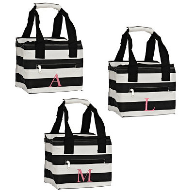 Kaleidoscope Monogram Lunch Totes