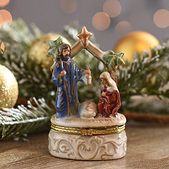 Holy Family Trinket Box