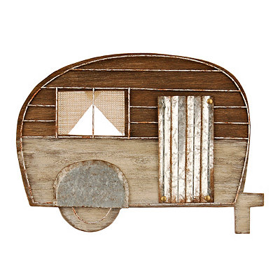Rustic Camper Wall Plaque