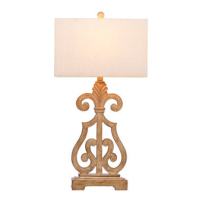 Belle Meade Scroll Table Lamp
