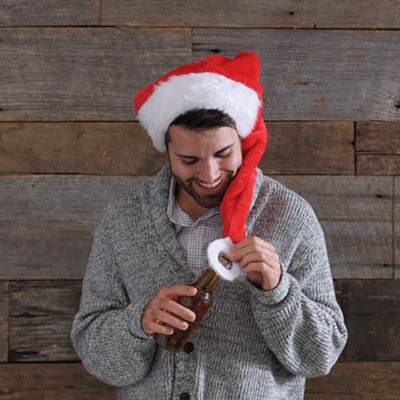 Santa Hat Bottle Opener