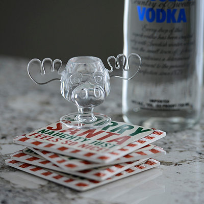 Christmas Vacation Moose Mug Shot Glass