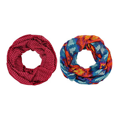 2-pc. Geometric Loop Scarf