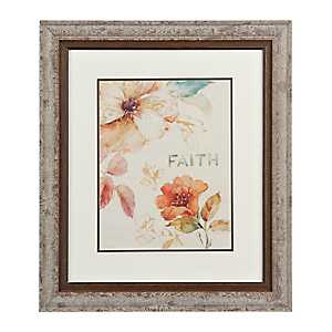 Floral Faith Framed Gallery Print