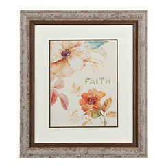 Floral Faith Framed Gallery Print