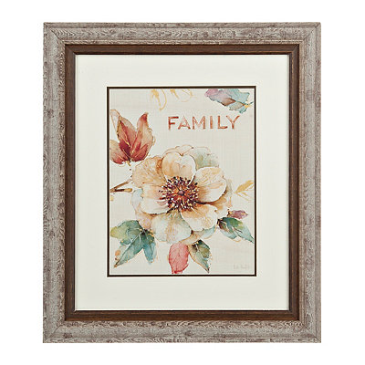 Floral Family Framed Gallery Print