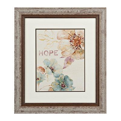 Floral Hope Framed Gallery Print
