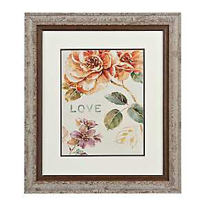 Floral Love Framed Gallery Print